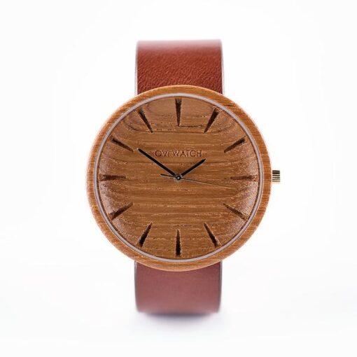 grandis viriesu koka rokaspulkstenis