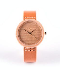 sieviešu koka rokas pulkstenis mulie