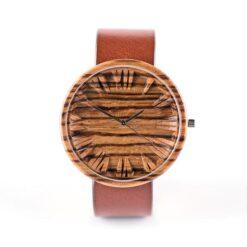 Zebrano Colors koka rokaspulkstenis
