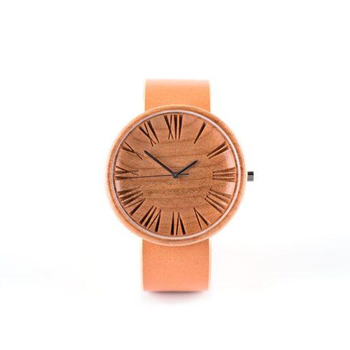 glamurus koka rokaspulkstenis
