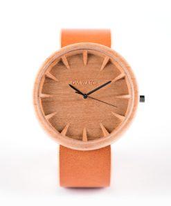 tectona koka rokaspulkstenis
