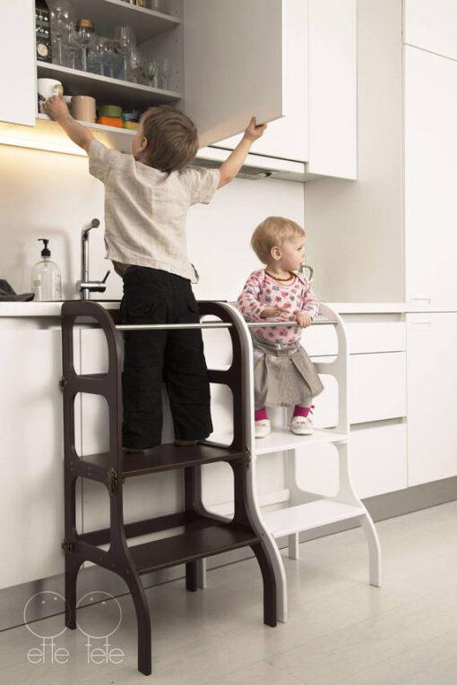 bērnu krēsliņš virtuvei