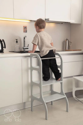 todler step stool for kitchen