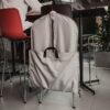 apģērbu aizsargmaiss biznesa klases pelēks