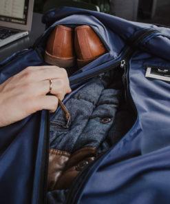 apģērba aizsargmaiss zils