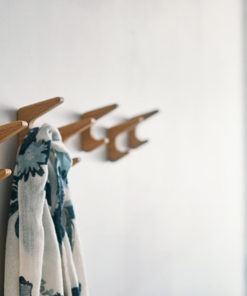 wall hooks from wood