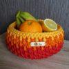 oranžš tamborēts groziņš