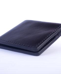 black-bifold-leather-wallet